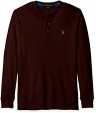 U.S. Polo Assn. Men's Long Sleeve Thermal Henley - Choose SZ/Color