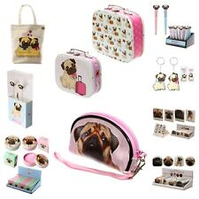 Ladies Gift Set Pugs Design Woman's Girls Make-up Beauty Vanity Christmas New