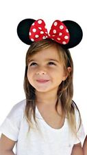 Minnie Mouse Ears Headband Deluxe Disney Licensed