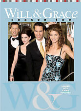 Will  Grace - Season 2 (DVD, 2004, 4-Disc Set)