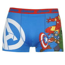 MENS BLUE SINGLE AVENGERS BOXERS BOXER SHORTS UNDERWEAR TRUNKS PANT