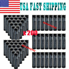 LOT 10/200X 18650 3.7V 6000mAh Li-ion Rechargeable Battery & Charger Cell Tor X6