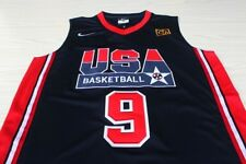 MICHAEL JORDAN 1992 USA Basketball Dream Team Olympic Navy Blue Swingman Jersey
