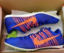 New Mens Nike Zoom Victory 2 Spikes Running Shoes Racer Blue Crimson 555365-487