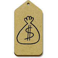 'Bag Of Cash' Gift / Luggage Tags (Pack of 10) (vTG0016662)