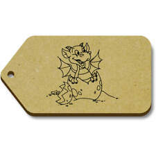 'Hatching Baby Dragon' Gift / Luggage Tags (Pack of 10) (vTG0012962)