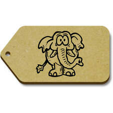 'Worried Elephant' Gift / Luggage Tags (Pack of 10) (vTG0014316)