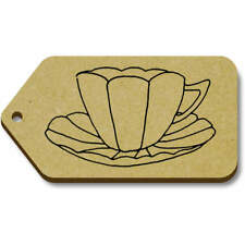 'China Teacup' Gift / Luggage Tags (Pack of 10) (vTG0018188)