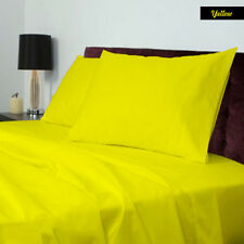BRAND NEW US BEDDING COLLECTION ITEMS - 1000 TC 100%EGYPTIAN COTTON YELLOW SOLID