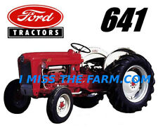 FORD 641 (image #2) Tractor tee shirt