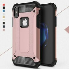 For Apple IphoneX Case Cover Shockproof Hybrid Armor Hard Back + Silicone inner