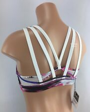 Lululemon Athletica Bra Energy Bra *Exhale 6 8 Pigment Wind White NEW Sports Bra