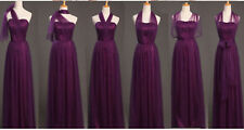 Women Bridesmaid Prom Gown Graduation Evening Party Cocktail Long Maxi Dresses