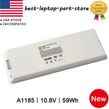 """Laptop Battery For Apple MacBook 13"""" A1181 A1185 MA561 MA566 White Black Lot"""
