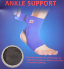 Neoprene Ankle Support Brace Foot Guard Injury Wrap Strap Comfort Pain Relief