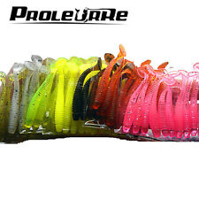 Fishing Lure Fishing Worm Swimbait Jig Head Soft Lure Fly Colorful Fishing Bait