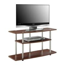 Cherry TVStand Media Center Entertainment Console Storage Furniture Home Theater
