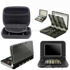 For New Nintendo 3DS XL LL 2015 Carrying Bag Clear Case Game Card Box Controller
