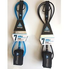 Komunity Project KS1.1 Ultimate Surfboard Leash 7ft NEW 7mm Cord Reef ONE 2017