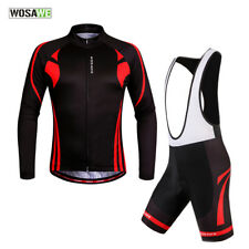 Long Pro Quick Dry Cycling Jersey bib shorts Outdoor Sports Bicycle Jacket