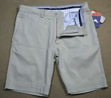 NWT MENS TOMMY BAHAMA ASHORE THING KHAKI SANDS CHINO SHORTS SZ 30