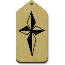 'Diamond Cross' Gift / Luggage Tags (Pack of 10) (vTG0013947)