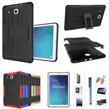 "7"" 8"" 9.7""Hybrid Rugged Stand Cover Hard Case for Samsung Galaxy Tab E S3 S2 4 3"