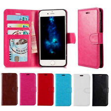Premium Leather Magnetic Flip Wallet Case Cover For Apple iPhone 5 5S 6 6S 6Plus
