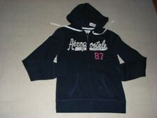 Aeropostale Hoodie Zip Sweater Jacket Women Navy/Pink SZ M -  NWT $49.50