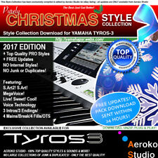 TYROS 3 Christmas 2017 PRO QUALITY Styles Collection DOWNLOAD! + UPDATES