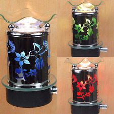 Hummingbird Plug In Diffuser Oil Warmer Wall Outlet Night Light Assorted Colors