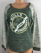 Women's University Of South Florida Bulls Long Sleeve Shirt Large USF Top