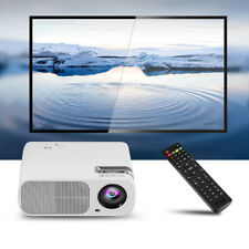 1080P LED Home MulitMedia Theater Cinema USB TV VGA HDMI Mini Projector Lot JS