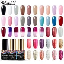 Maphie 78 Colors Soak Off UV Nail Gel Polish Led Glitter Gel Varnish Polish 6ML