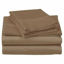 500 Thread Count 100% Cotton Solid Sheet Set by Superior