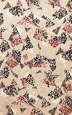 Polyester Leaf Print Light Weight Dressmaking or Shirt Fabric Sewing Crafts