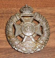 THE PRINCE CONSORTS OWN RIFLE BRIGADE BRITISH ARMY MILITARY HAT CAP BADGE