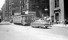 Chicago Transit Authority Surface Lines Streetcar #452 Original Negative Tram
