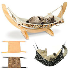 Cat Hammock Hanging Cat Cage Warm Bed Pets Supplies Fur Ferret Rest House Soft