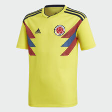 Youth adidas Colombia Official 2018 Home Soccer Football Jersey