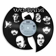 Wu Tang Vinyl Wall Art Music Bands Musicians Themed Exclusive Home Office Decor