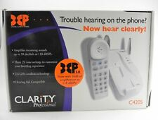 Clarity Professional C4205 Amplified Cordless Phone w/Digital Clarity Power 50dB
