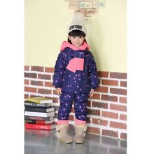 Baby Girl Winter Keep Warm Outerwear Kids Hooded Pants & Jacket Outdoor Clothes