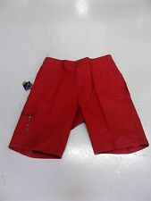 "OAKMAN  SULPHUR DYE  SMART/CASUAL RED CARGO SHORTS SIZE 44""48""50"" WAIST"
