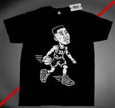 New Fnly94 Pippen Air Uptempo more  tshirt Black supreme gold red scottie S L XL