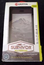 NEW GRIFFIN SURVIVOR MILITARY DUTY CASE COVER BELT CLIP FOR IPHONE 6/6s Plus Uk