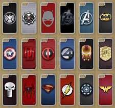 Marvel DC Heroes Phone Case For iPhone 8, iPhone X, iPhone 7, Plus, iPod Touch