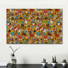 HDARTISAN Modern Abstract Canvas Art Print Oil Painting icons Home Decoration