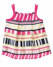 NWT Gymboree Cape Cod Cutie Striped Woven Top Size 7 & 9