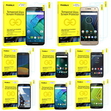 PASBUY® 2Pack Tempered Glass Screen Protector for Motorola G5 Plus G4 AllPhones